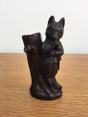Cambridge Bronzes Mr Tod Fox Resin Figurine Beatrix Potter  F. Warne & Co. Ltd.