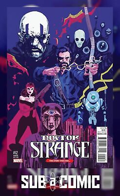 DOCTOR STRANGE #12 WALSH STORY THUS FAR VARIANT (Marvel NOW 2016 1st Print)