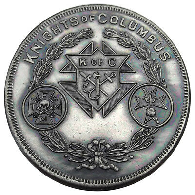 Knights of Columbus Medal, Member of Council Reverse, K of C Token Uncirculated