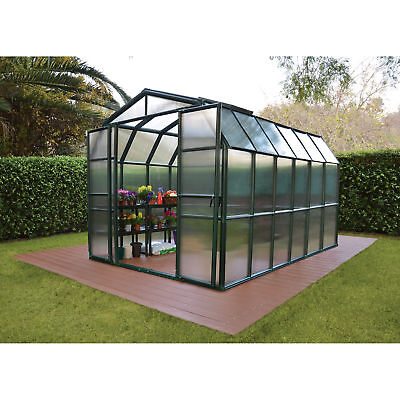Grand Gardener 2 Twin Wall Greenhouse - 8ft.W x 12ft.L, Model# HG7212