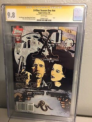 x-files: Season One #nn (CGC Signature Series) Signed by: David Duchovny