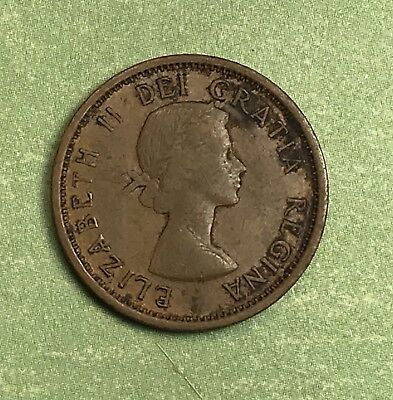 1959 Canada 1 Cent Penny. Collector Coin For Your Collection or Set.