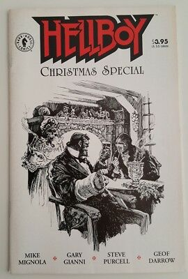 HELLBOY CHRISTMAS SPECIAL Comic Mignola  Cthulhu Charles Dickens 1997 Gianni Poe