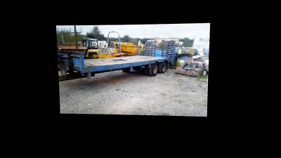 22ft bed, low loader