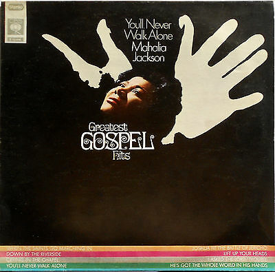 Mahalia Jackson - You'll Never Walk Alone, Greatest Hits - LP 12''  CBS