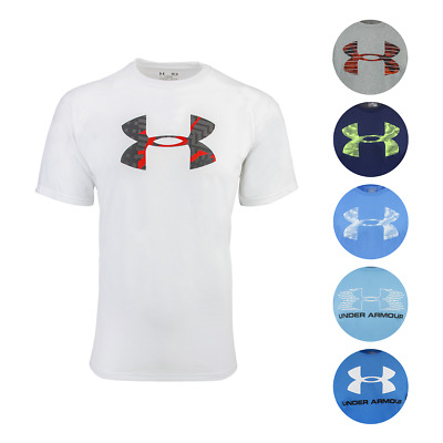 Under Armour Men's Heatgear Graphic Big Logo T-Shirt