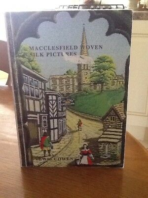 Macclesfield Woven Silk Pictures Book Dated 2001 By Lewis Cowen.