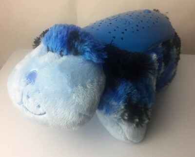 Pillow Pets Dream Lites Light Up Blue Dog Puppy Night light Baby Kids Light