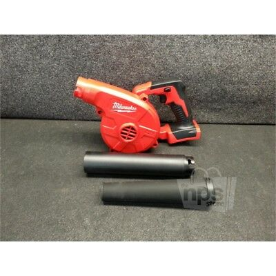 Milwaukee 0884-20 M18 Cordless Compact Blower, 160 MPH, 100 CFM, No Battery