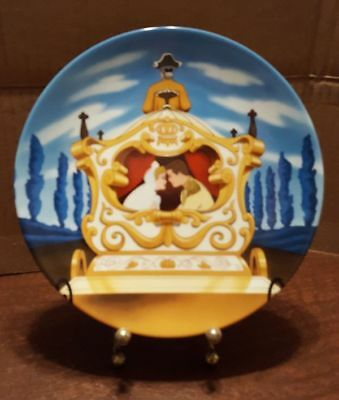 """Disney Cinderella Collector Plate """"Happily Ever After"""" by Knowles"""