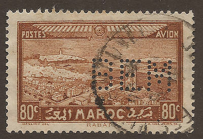 MAROCCO. PERIN BEM. 80c BROWN USED
