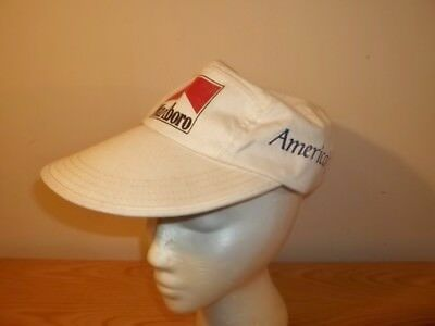Vtg 1988 MARLBORO AMERICA'S CUP SAN DIEGO SAILING SAILOR LONG BILL FITTED HAT