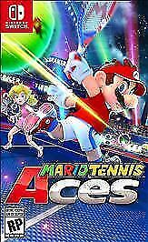 Mario Tennis Aces (Nintendo Switch, 2018). Opened Case