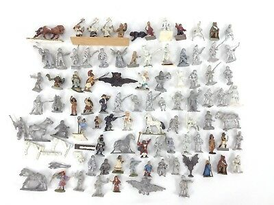 Random Metal Miniature Vintage Figures Mixed Lot of 80+