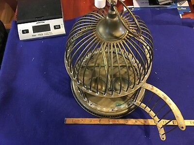 Old Brass Birdcage Bird Cage Dome Shaped