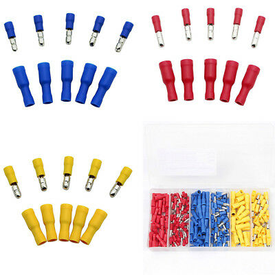 260PCS Insulated Connector Female&Male Wire Crimp Terminals 22-18/6-14/12-10AWG