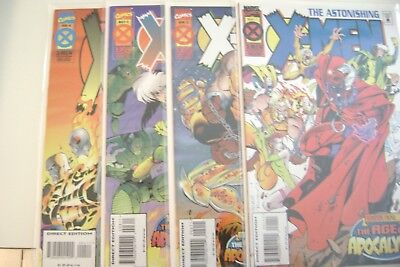 Marvel Comics Astonishing X-Men: Age of Apocalypse # 1-4  (NM, 1995)