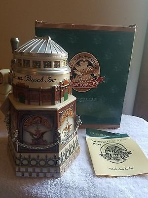 Anheuser Busch AB Budweiser Stein Members Only Collectors Club 1999 CB11