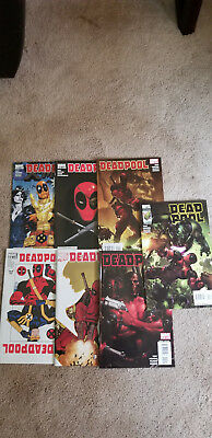 deadpool comic book lot Danial Way  Marvel Comics 2008