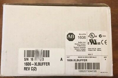 NEW IN BOX Allen-Bradley 1606-XLBUFFER Series A DeviceNet Buffer 24VDC
