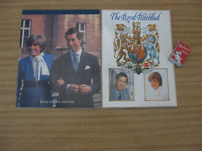 THE ROYAL BETROTHAL CHARLES & DIANA Wedding 1981 Royalty Queen