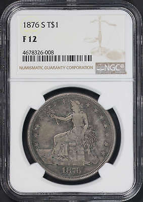 1876-S Silver Trade Dollar NGC F-12 -173679