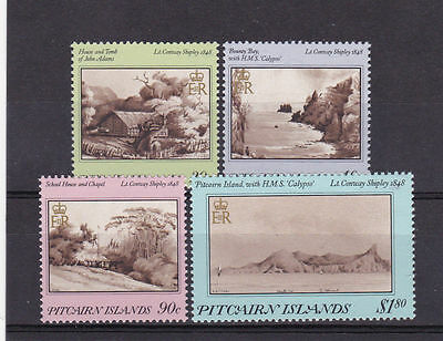 PITCAIRN ISLANDS Sc#291-294 ISLAND PAINTINGS 1987 (4v) MNH