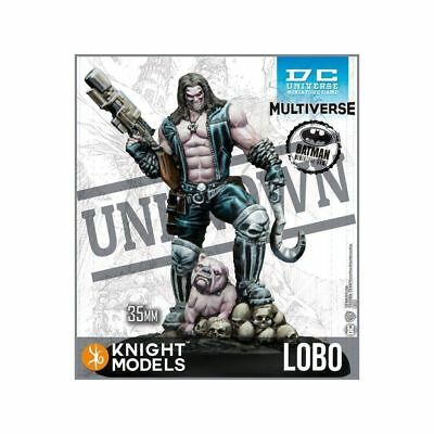 DC Universe Miniature Game Lobo  2nd edition with bike