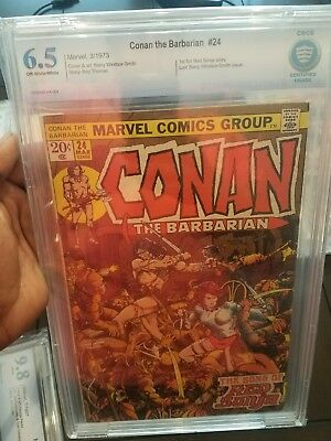 Conan the Barbarian #24 First Appearance red Sonja Marvel