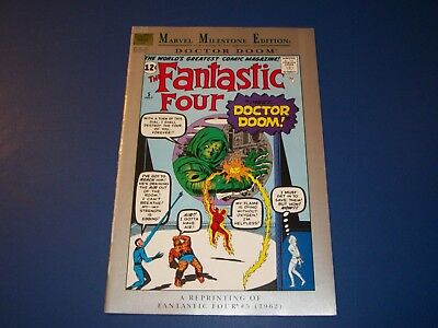 Fantastic Four #5 Marvel Milestones reprint 1st Dr. Doom Wow Fine