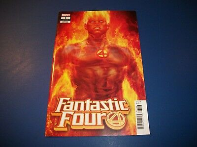 Fantastic Four #1 New Series Artgerm Torch Variant NM gem Wow