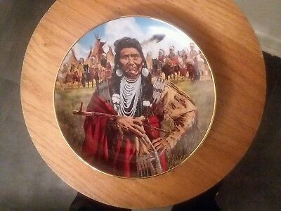 american indian heritage plate/cheif joseph man of peace