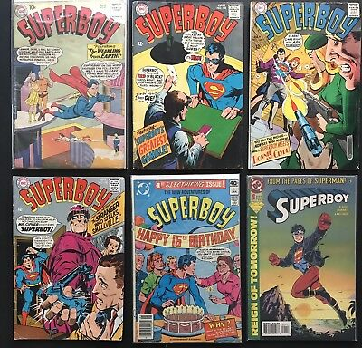 SUPERBOY #81 & 1. 3 DC Silver, Bronze & Modern Age Comics. Smallville. Free Ship