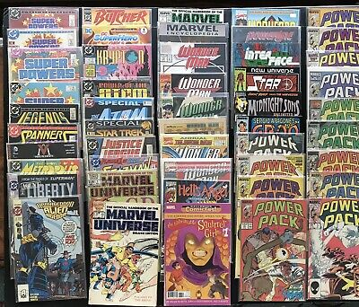 POWER PACK. 13 Marvel Bronze Age Comics. Wolverine. Sabretooth. Free Shipping
