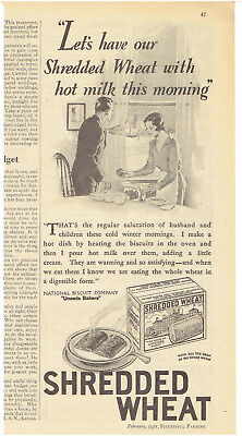 Vintage, Original, 1931 - Shredded Wheat Advertisement - Cereal