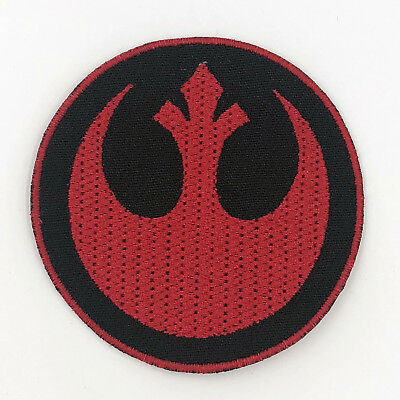 Iron on embroidered Star wars rebel alliance / resistance patch, Best Quality