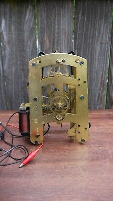 self winding battery electric gallery wall clock movement seth thomas project