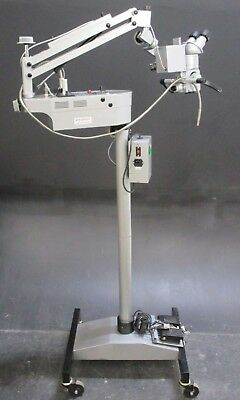Visine Instruments Dental Surgical Microscope for Oral Surgery w/ Mobile Stand