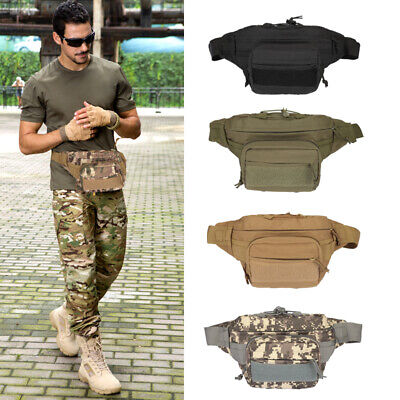 Utility Tactical Waist Pack Pouch Military Camping Hiking Outdoor Belt Bags Lot