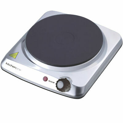 Maxim Portable Single Electric Stove Hot Plate Cooker Hotplate Cooktop Caravan