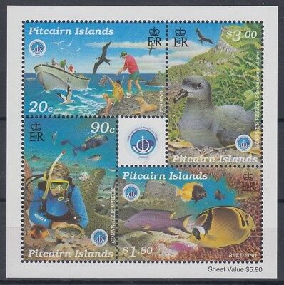 Pitcairn Islands 1998 Year Of The Ocean M/s Mint (Id:235/d53420)