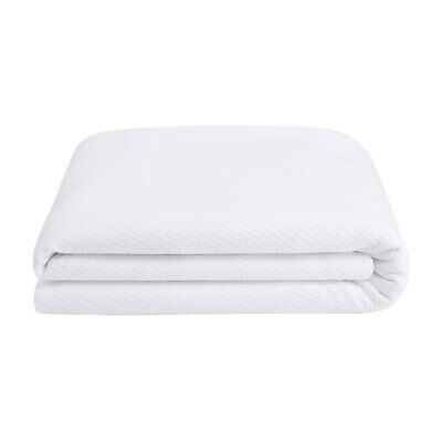 Single Size Waterproof Washable Cotton Mattress Cover Protector Sheet Wet Fitted