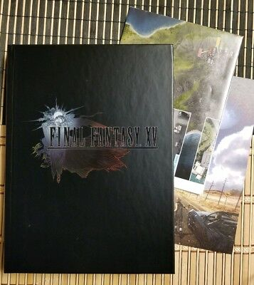 Final Fantasy XV Complete Collector's Edition Guide + map & lithograph