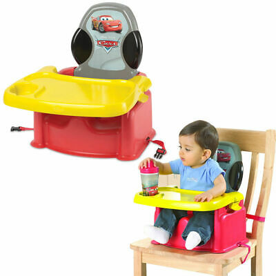 Disney Cars Portable Foldable Baby Child High Chair Booster Feeding Harness Seat