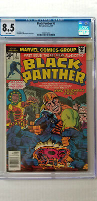 Black Panther #1 CGC 8.5   WHITE