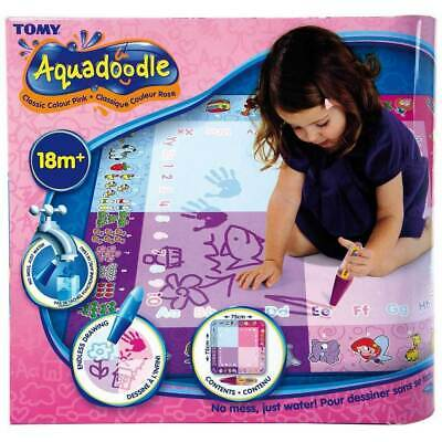 Children Toddler Aquadoodle Classic Mat Water Pen Drawing Toy Play Draw Pink