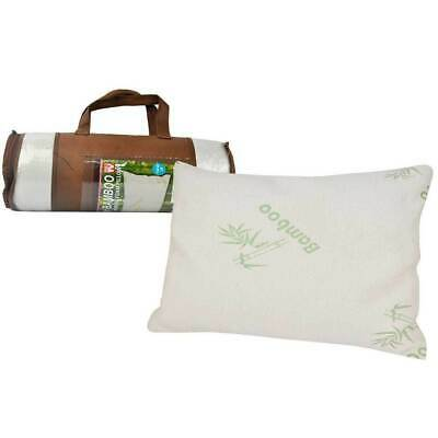 Luxury Bamboo Memory Foam Pillow w/ Cover/Case Neck/Head/Shoulder Support Sleep