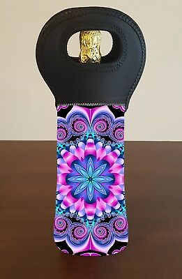 Mandala Wine Bottle Cooler Carry Bag