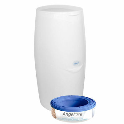 Angelcare Baby Nappy Diaper Bin Trash Disposal System Air Odour Seal Barrier Bag
