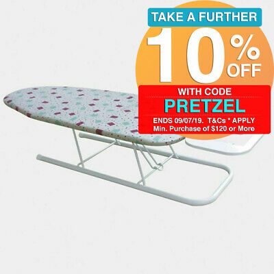 Maxim Portable Table Top Ironing Board Pro Bench Padded Iron Stand Laundry